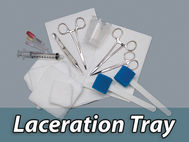 Laceration Trays