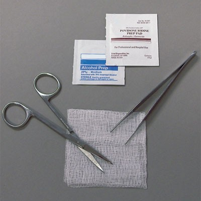 Suture Removal Tray Product Number: 20205