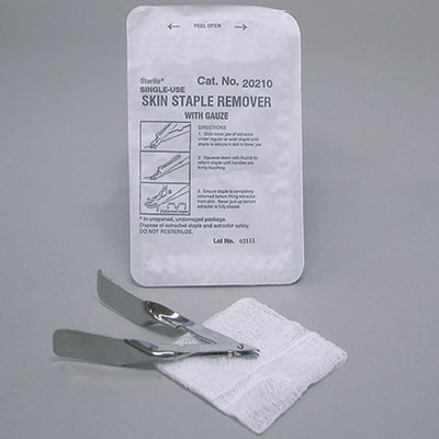 Suture Removal Tray Product Number: 20210