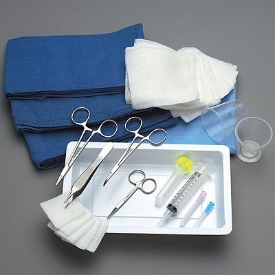 "Minor Laceration Tray ""A"" Product Number: T96-1715"