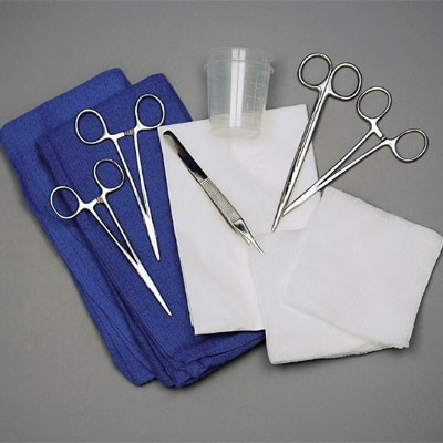 Facial Laceration Tray Product Number: T96-4388